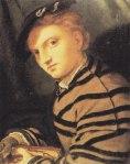 El joven con el libro secreto