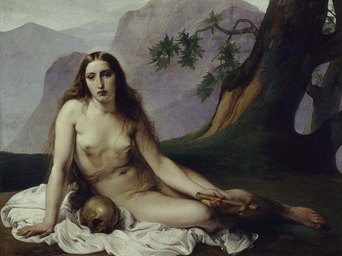 Magdalena Penitente de Hayez - visitas guiadas milan