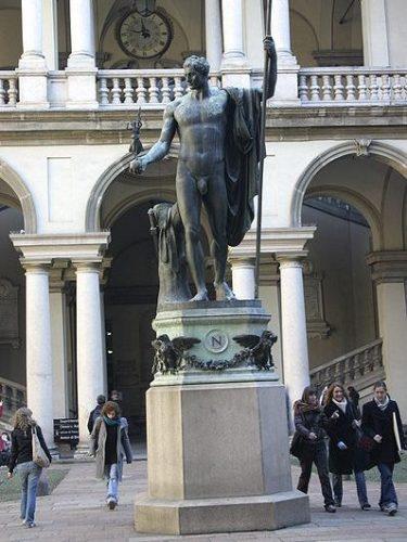 Estatua de Napoleón Brera
