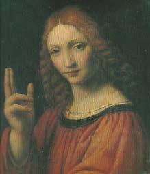 Cristo que bendice - Bernardino Luini -  visitas guiadas milan
