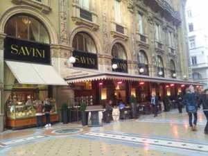 Restaurante Savini - visitas guiadas milan