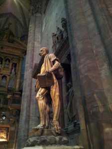 San Bartolomé - catedral de Milán