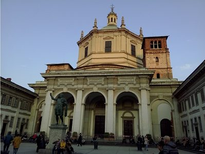 San Lorenzo Mayor - visitas guiadas milan