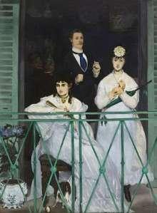 El balcón - Manet - visitas guiadas milan