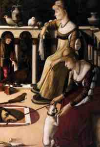 Las cortesanas de Vittore Carpaccio - visitas guiadas milan