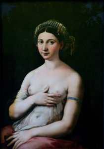 La Fornarina de Rafael Sanzio - visitas guiadas milan
