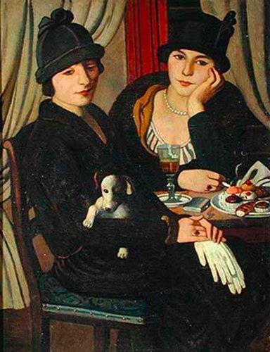 Mujeres en la cafetería - visitas guiadas milan