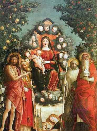 Retablo Trivulzio - Andrea Mantegna - visitas guiadas milan