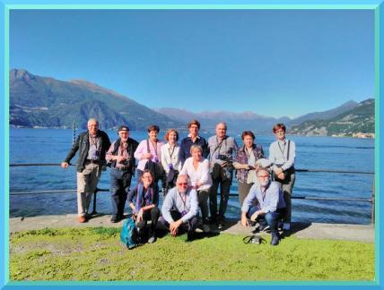 Clientes en el Lago de Como - visitas guiadas milan