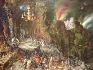 Alegoría del fuego - visitas guiadas milan
